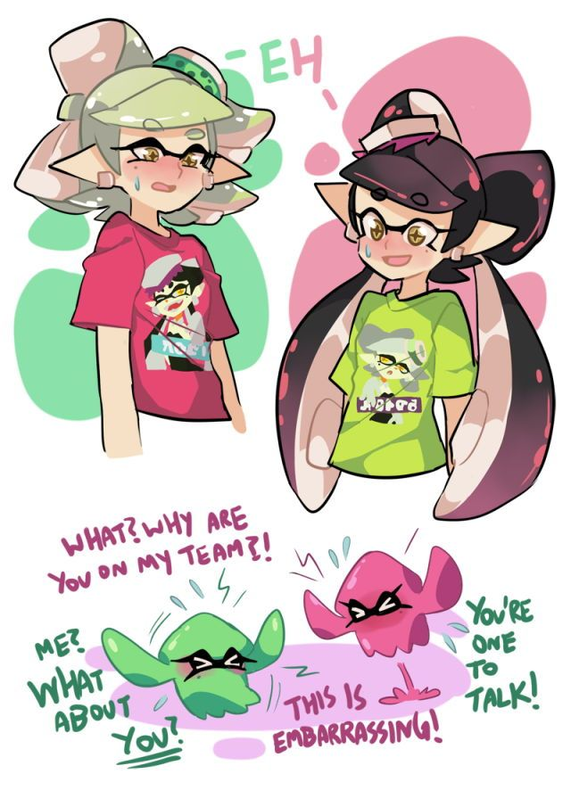 pin by suu chan on シオカラーズ splatoon splatoon memes splatoon comics