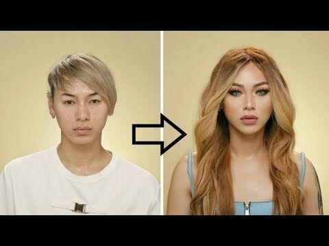 Guy To Girl Makeup Transformation Youtube With Images