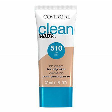 Covergirl Clean Matte BB Cream Fair 510 For Oily Skin, 1 oz