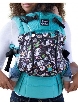 e061ffd5f42 tokidoki x LÍLLÉbaby All Seasons Baby Carrier - Space Place Turquoise