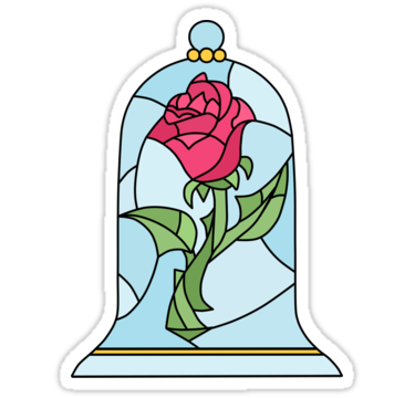 beauty and the beast rose sticker en 2019 stickers