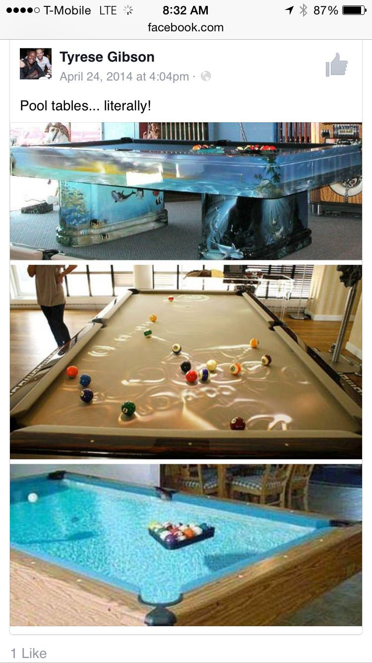 Actual pool tables ima create my own home ideas table for Design my own pool