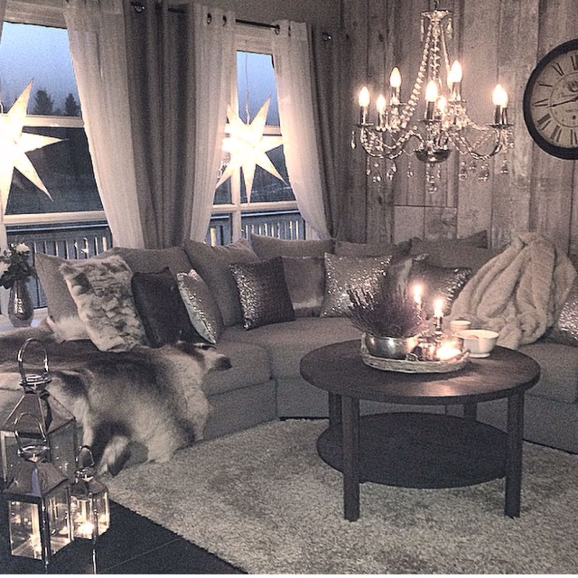 Grey Glam Living Room Ideas: Gray Glam Living Room (With Images)