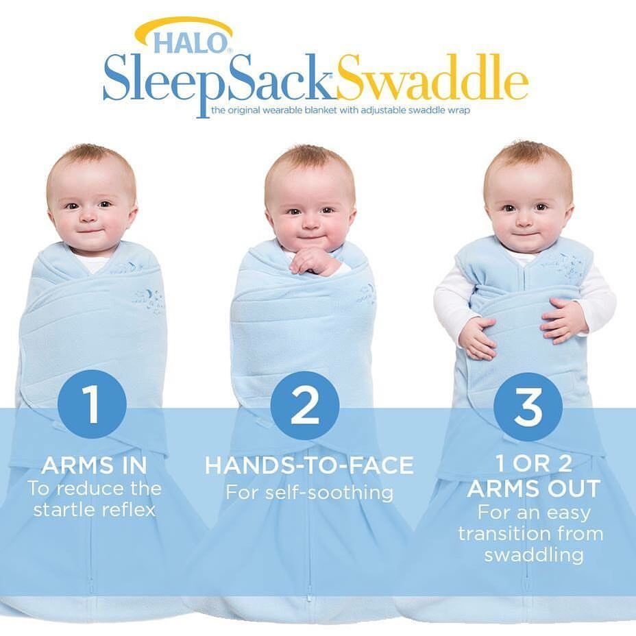 info for 78cb6 15748 The HALO SleepSack Swaddle is the only 3-way swaddle that ...