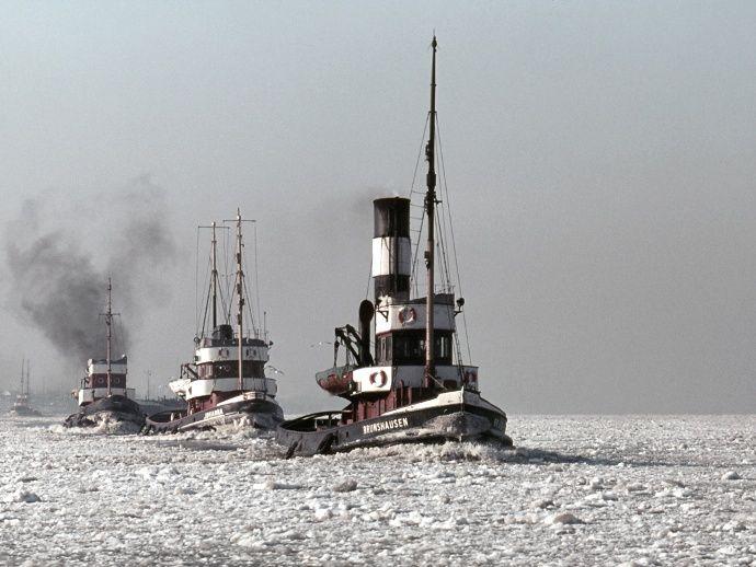Historische Hafenbilder von Herbert Caesar Bruno Voß ...