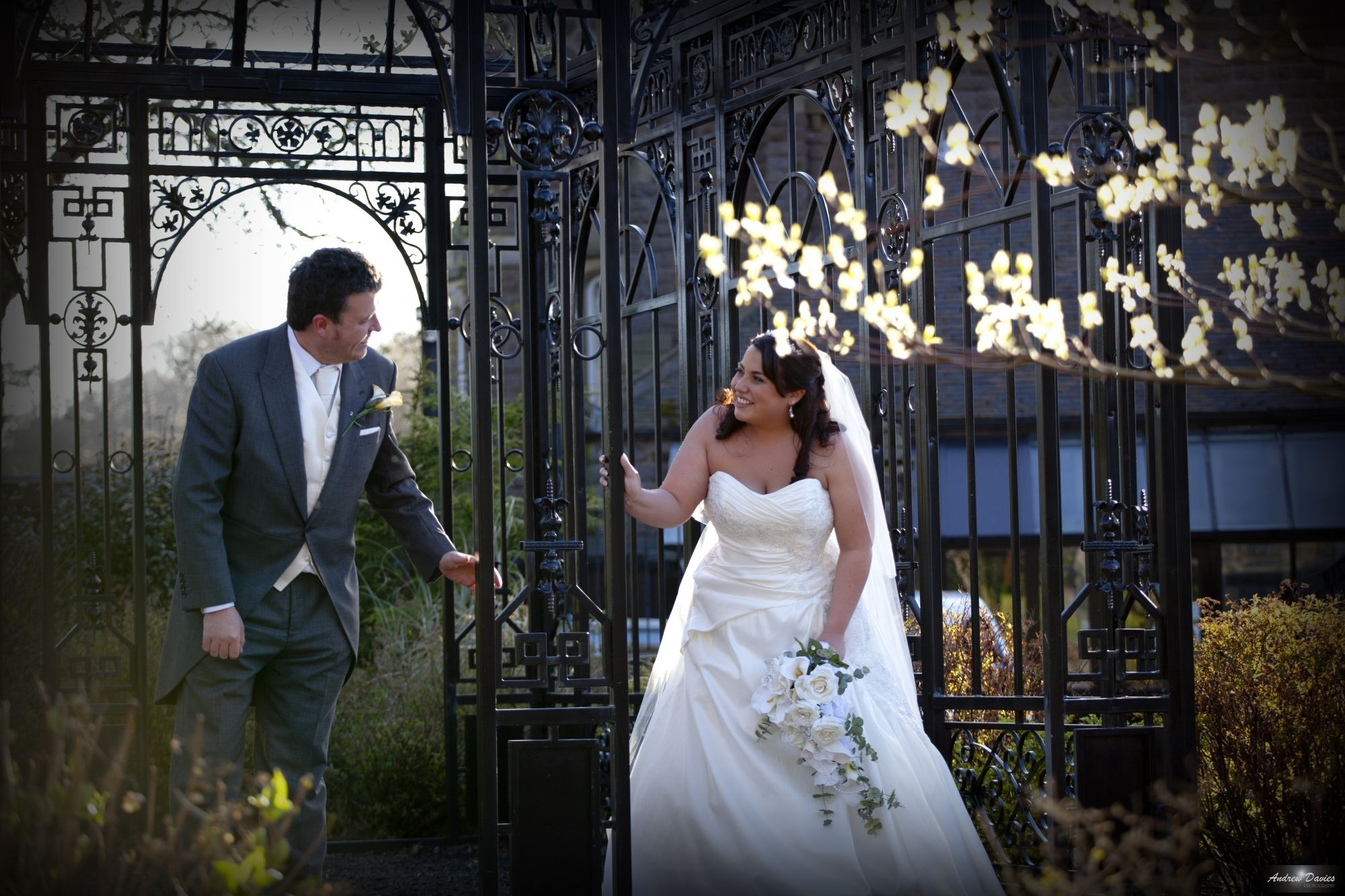 Bride And Groom Photo Rushpool Hall By North East Teesside Middlesbrough Wedding Photographer