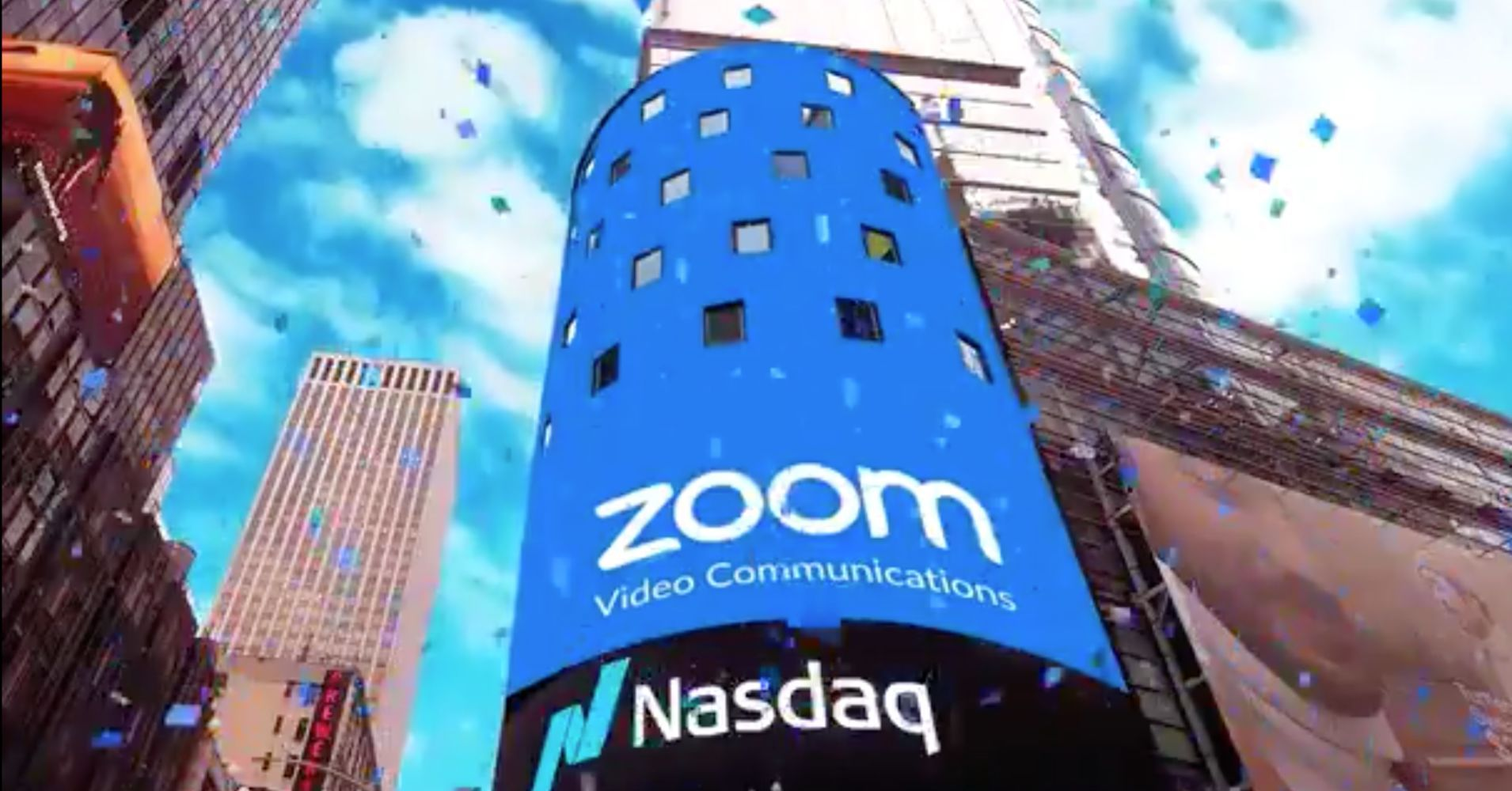 Zoom Rocketed 72 On First Day Of Trading With Images Nasdaq Initial Public Offering Enterprise Value