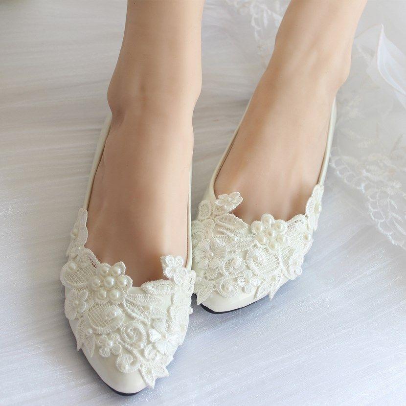zapatos de novia planos | mi boda | wedding shoes, wedding y bridal