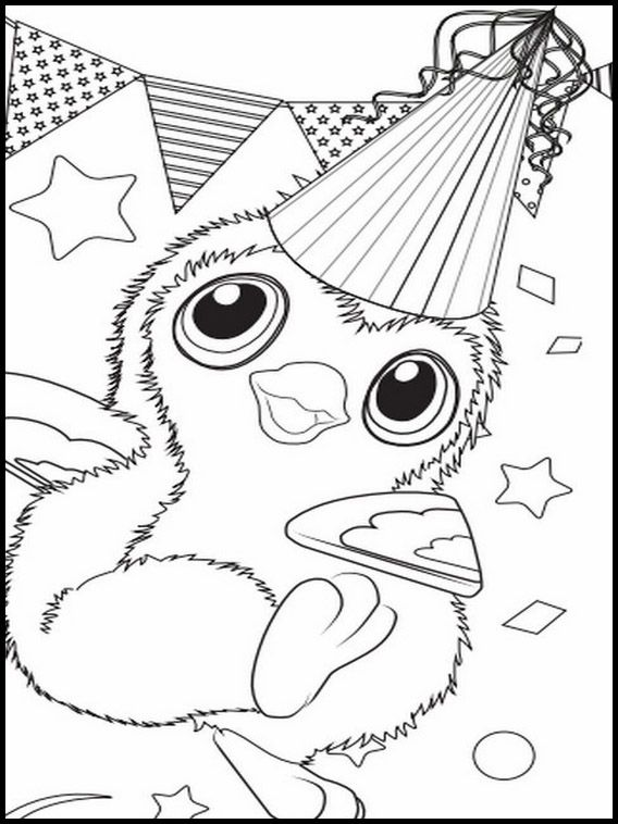 Baby Hatchimal Coloring Pages