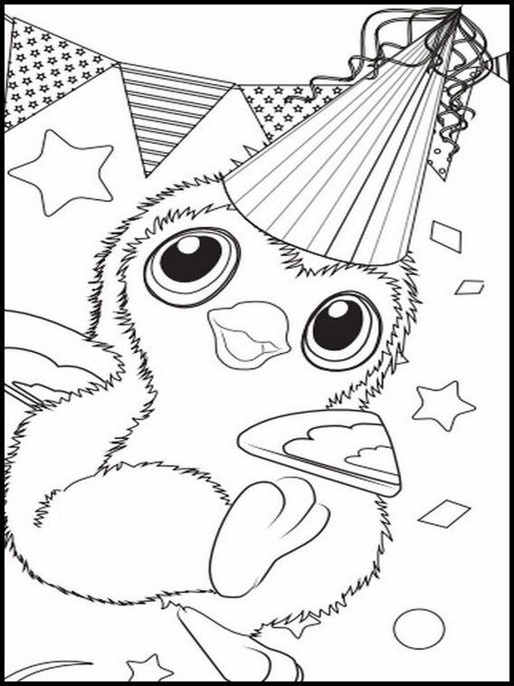 Dibujos para Colorear. Dibujos para imprimir y pintar Hatchimals 5 ...