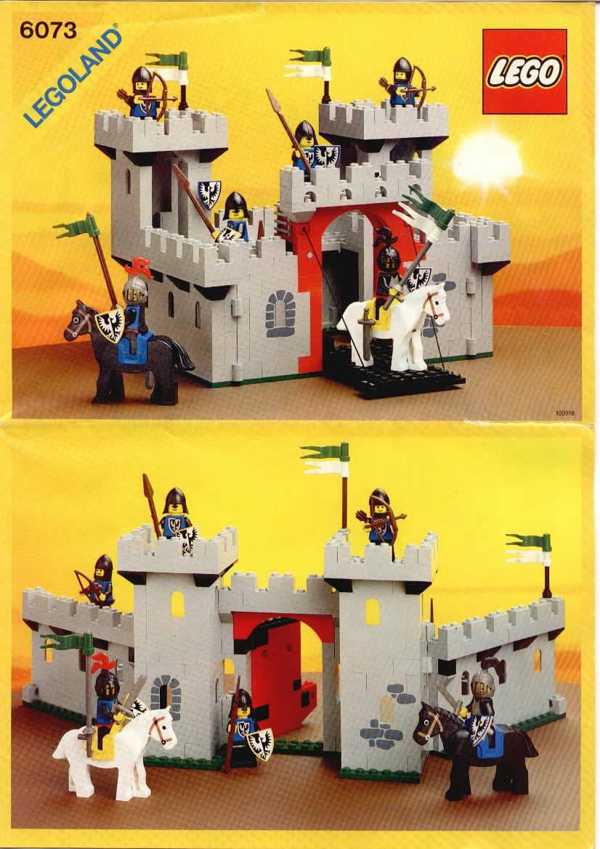 Old Lego Instructions Letsbuilditagaincom Boys Lego Knights