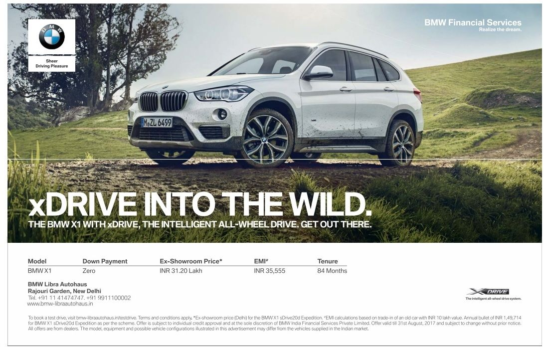 bmw-financial-services-xdrive-into-wild-ad-times-of-india-delhi-20