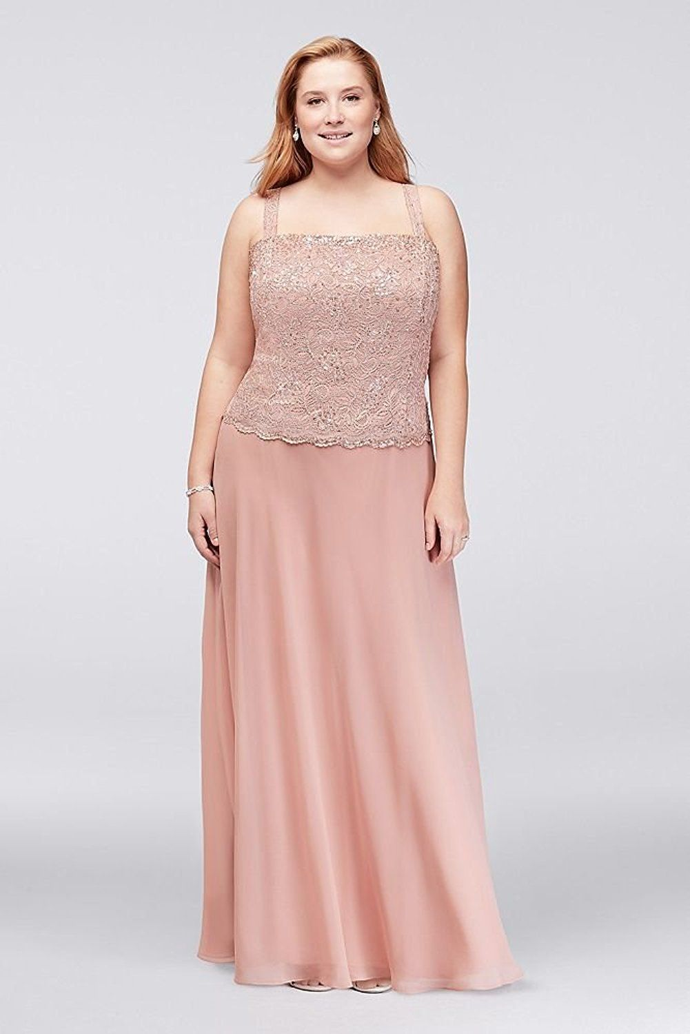 Plus Size Wedding Guest Dresses - Plus Size Two Piece Mother of ...