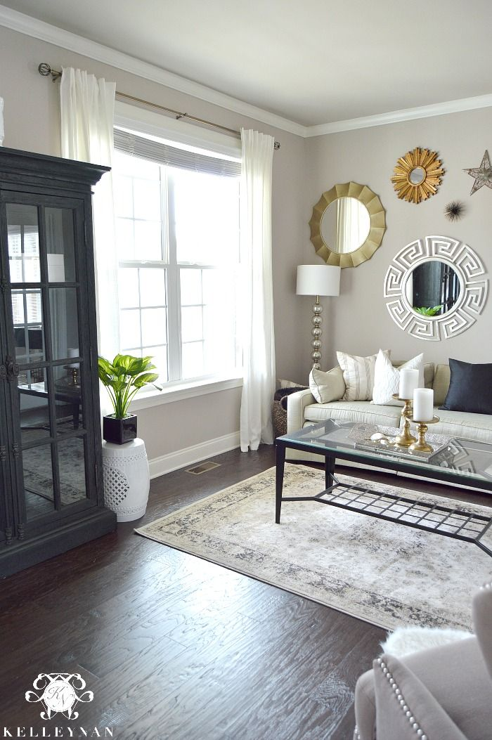 Lovely Kelley Nan: The Favorite White Budget Friendly Curtains