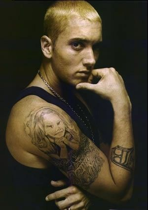 A Look At Hip Hop S Most Outstanding Tattoo S Eminem Tattoo Eminem Music Eminem