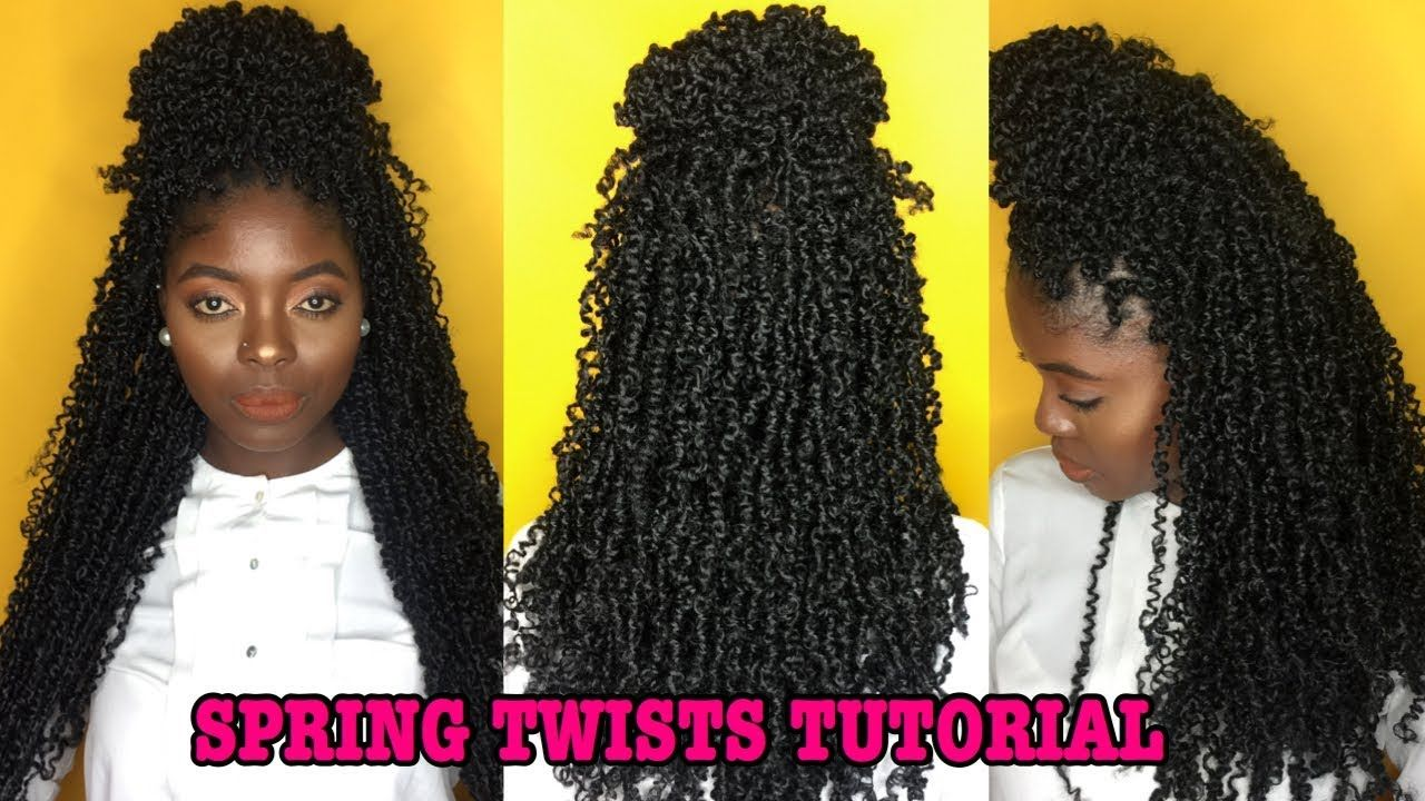 HOW TO DO SPRING/FLUFFY TWIST ON NATURAL HAIR
