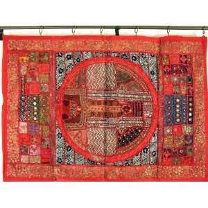 How To Hang Wall Hanging I Ve Been Looking For Ways To Hang A Suzani In My Living Room Wall Hanging Tapestry Wall Hanging Wall Tapestry