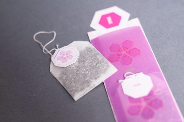 Four Seasons Teabag Bookmarks bySachie Nagasawa