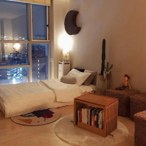 Apartment Interior, Korean Bedroom