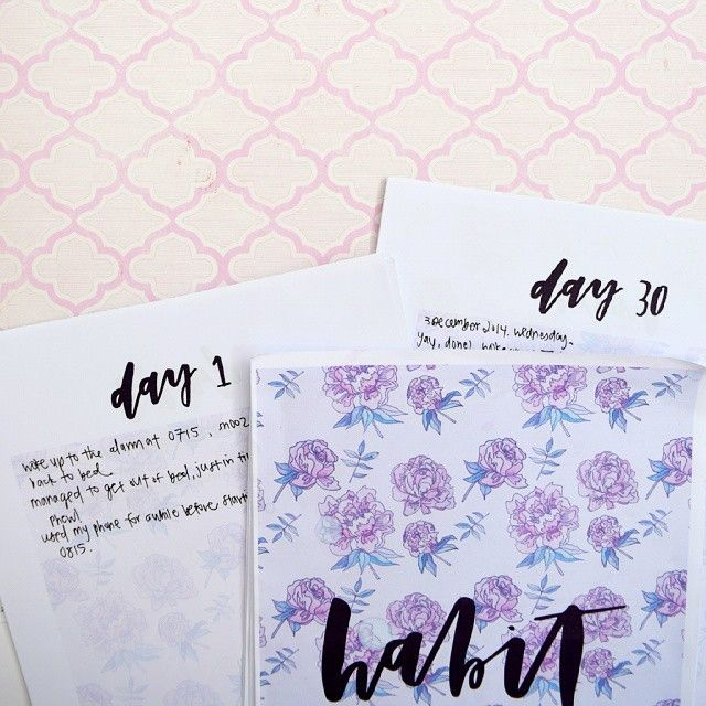 I loved using @cayleegrey's #prettydocumented habit planner for my thirty-day habit challenge. Read about what I learned on the blog today.