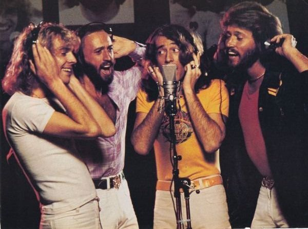 The Bee Gees with Peter Frampton