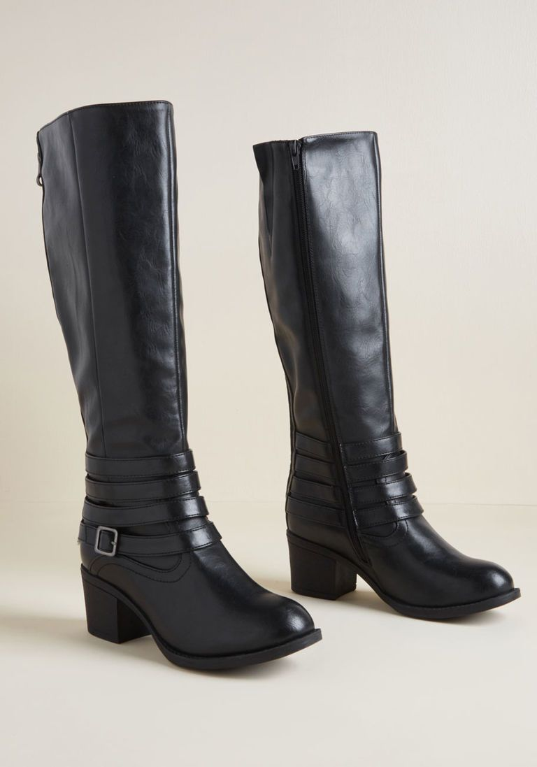 84cf60bdd2320e Strut Else Is New Knee High Boot in Black