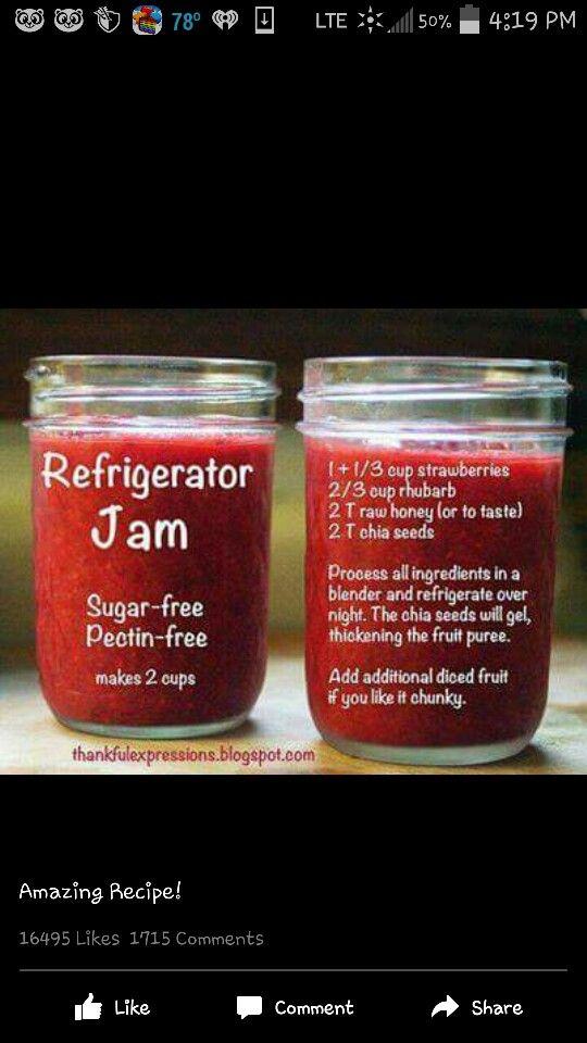 No sugar or pectin!