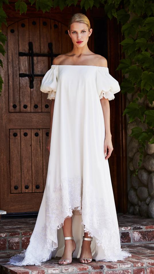 Gorgeous Tadashi Shoji Wedding Dresses Fall 2018 | Boho / Antique ...