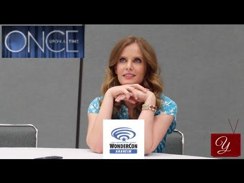 Once Upon A Time - Rebecca Mader (Zelena, The Wicked Witch) from WonderCon Anaheim 2014 - yael.tv #OUAT