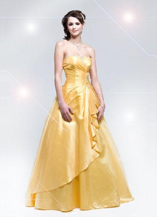 yellow prom dress designs | Princess Isabelle | Pinterest | Dress ...