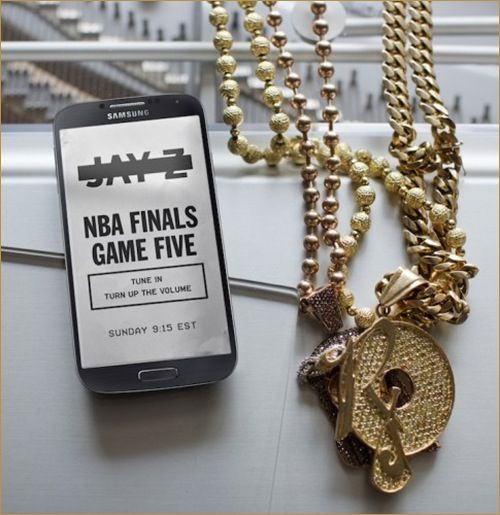 Jay-Z. NBA Finals Game Five. Tune In. Turn up the volume | News
