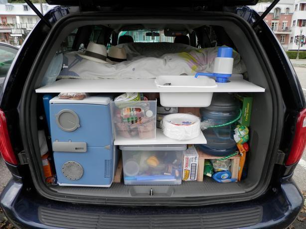 2004 Camper Van Dodge Grand Caravan Ready To Go Grand
