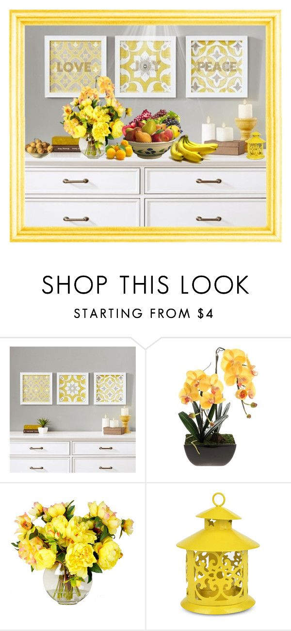 """""""Fruits"""" by julissag ❤ liked on Polyvore featuring interior, interiors, interior design, home, home decor, interior decorating, Madison Park and George Nelson"""