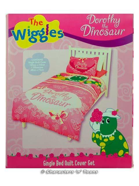 dinorsaur bedding | Dorothy the Dinosaur Bedding Quilt ...