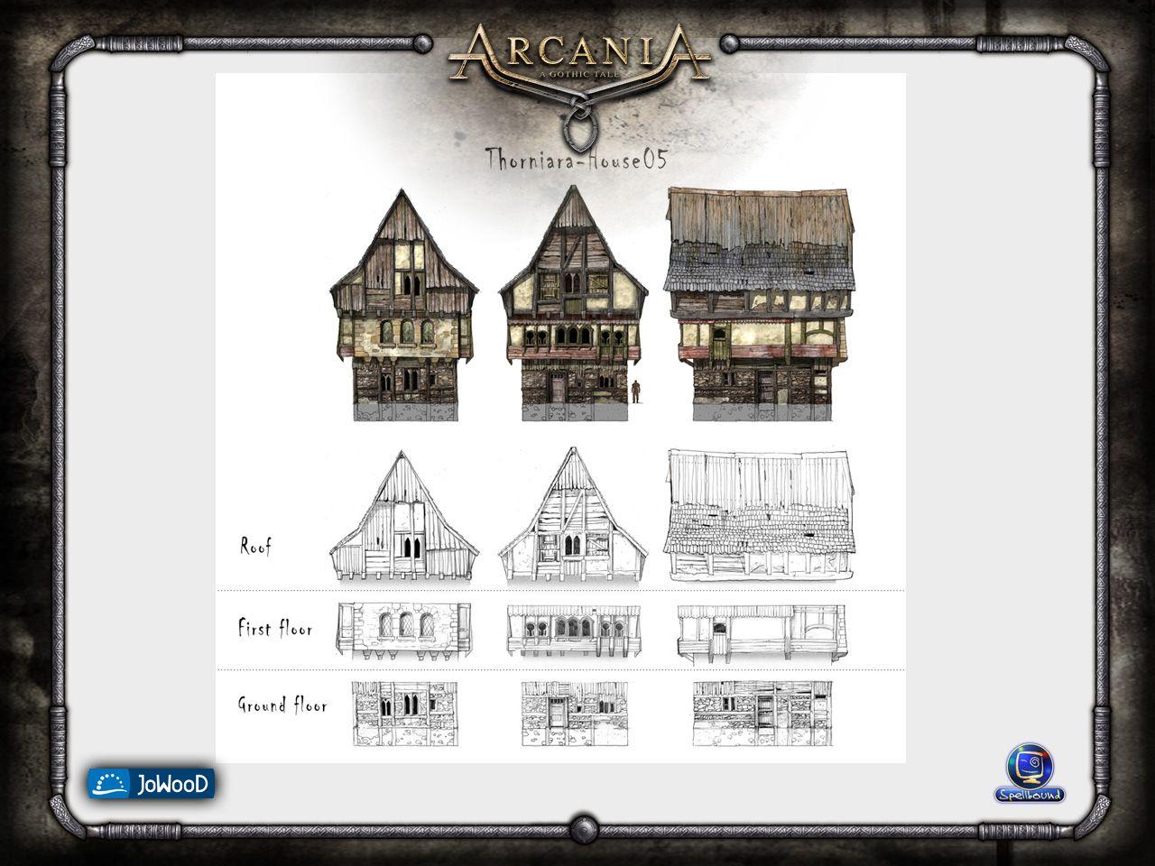 Hafenstadthaus-Aufbau