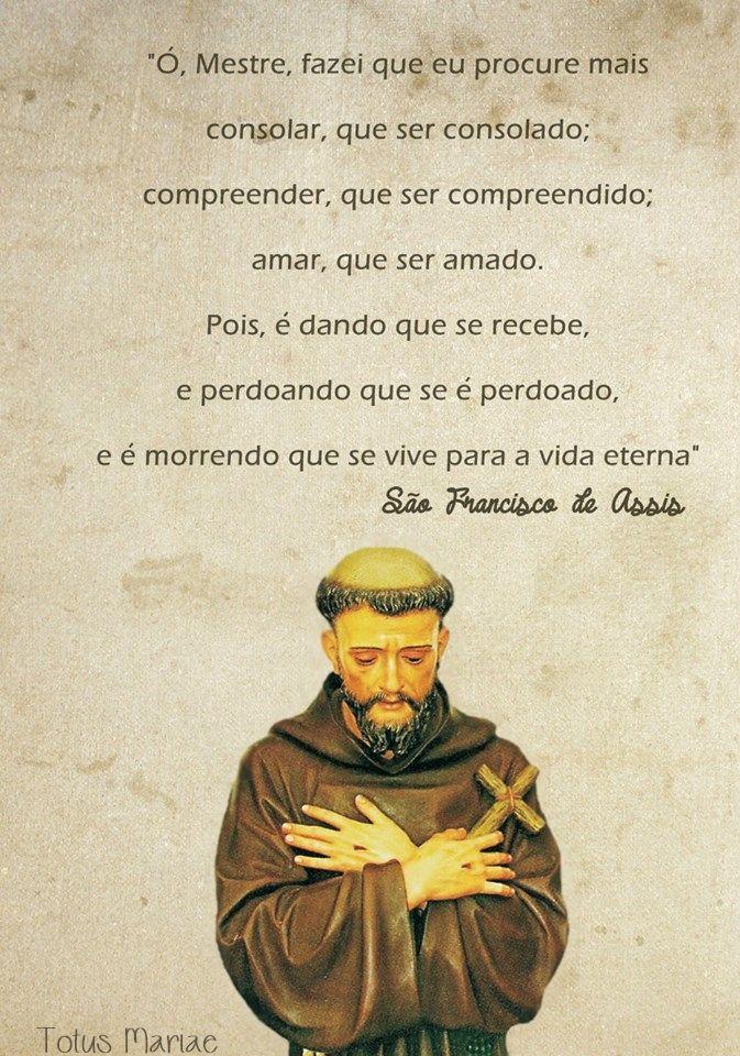 Francisco De Assis Sta Rita De Cássia Pinterest Espiritualidad