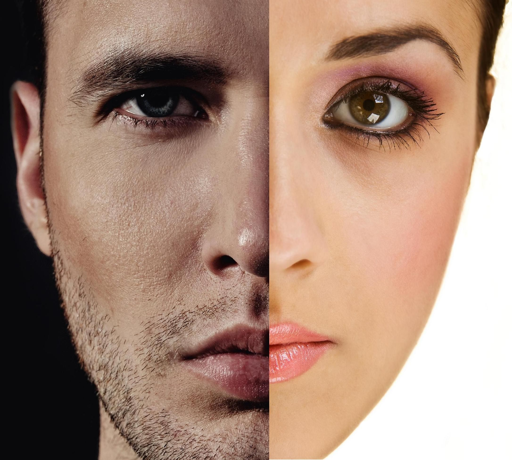 Check Out The Eyebrows People Men V Women Skin Care Eyebrows