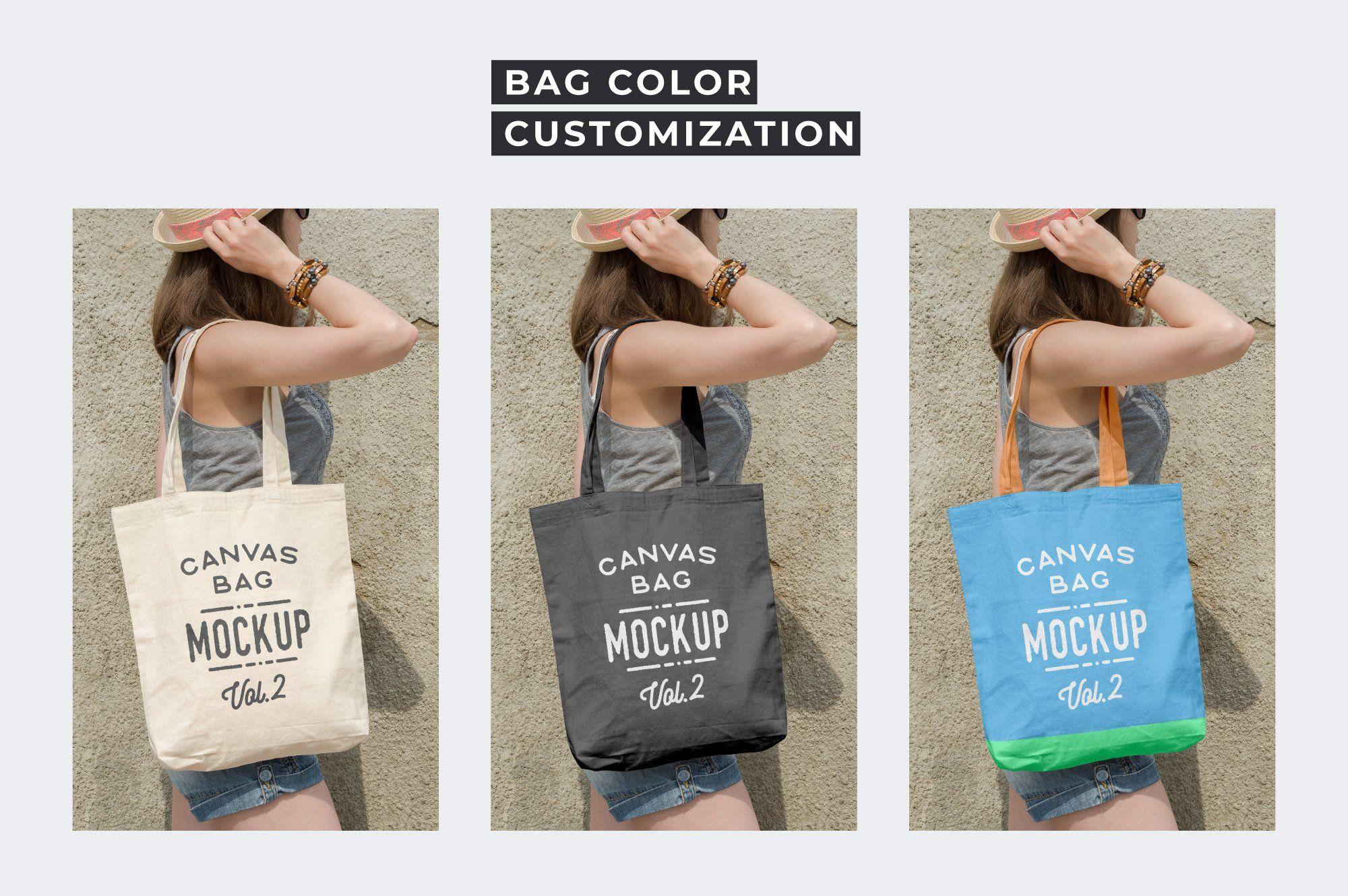 Canvas Tote Bag Mockups Pack Vol 2 Bag Mockup Tote Bag Canvas Tote Bags