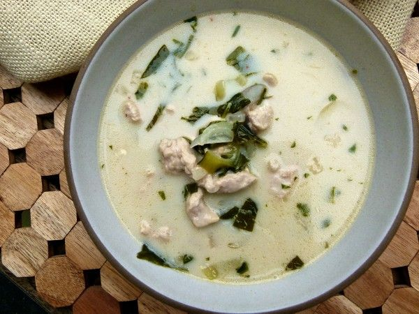 Thai Coconut Chicken Soup   pamela salzman #Sergie