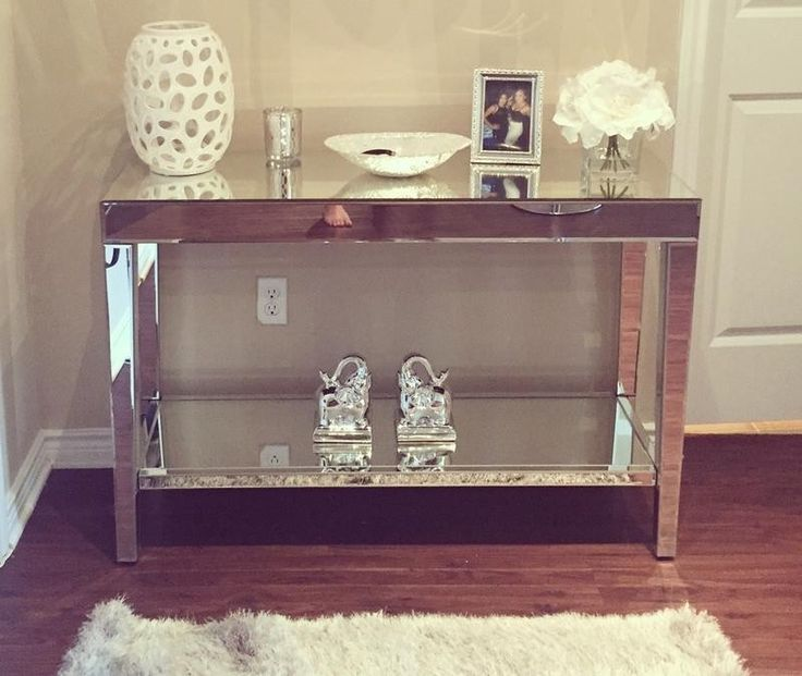 Image Result For Mirrored Console Table Target Entryway Console