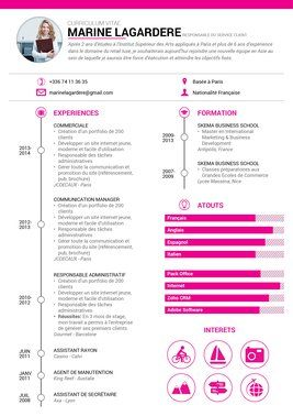 exemple de cv en communication exemple cv en communication | CV | Pinterest exemple de cv en communication