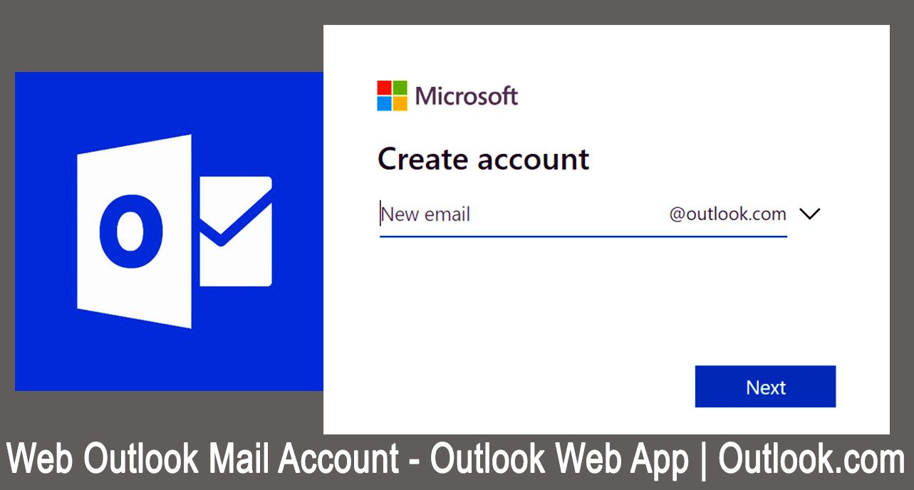 Web Outlook Mail Account Outlook Web App Free Email Services
