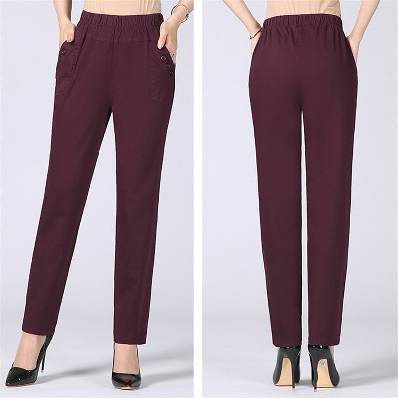 Kompritas Pants For Women Trousers Women Straight Trousers
