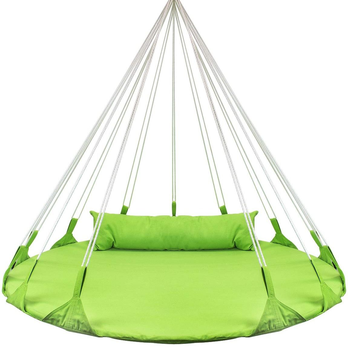 Sorbus Hanging Swing Nest with Pillow Green in 2020
