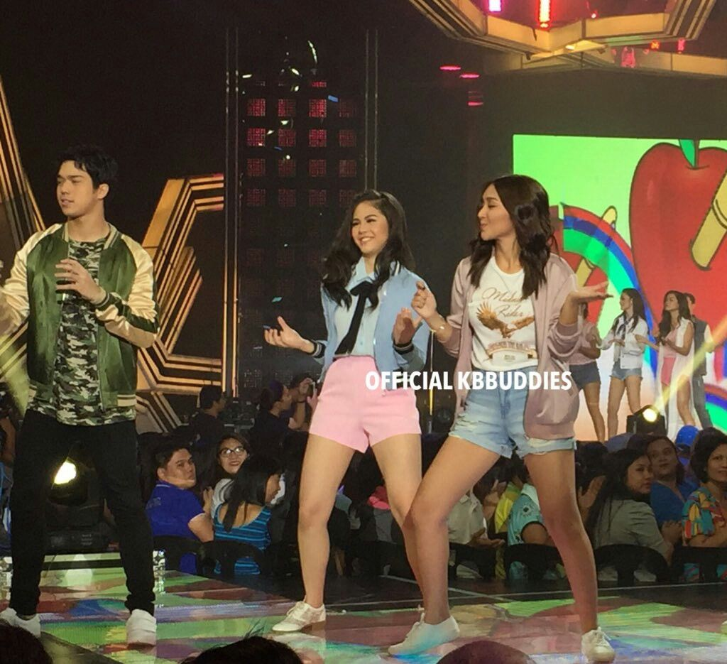 this is the pretty kathryn bernardo along with janella salvador
