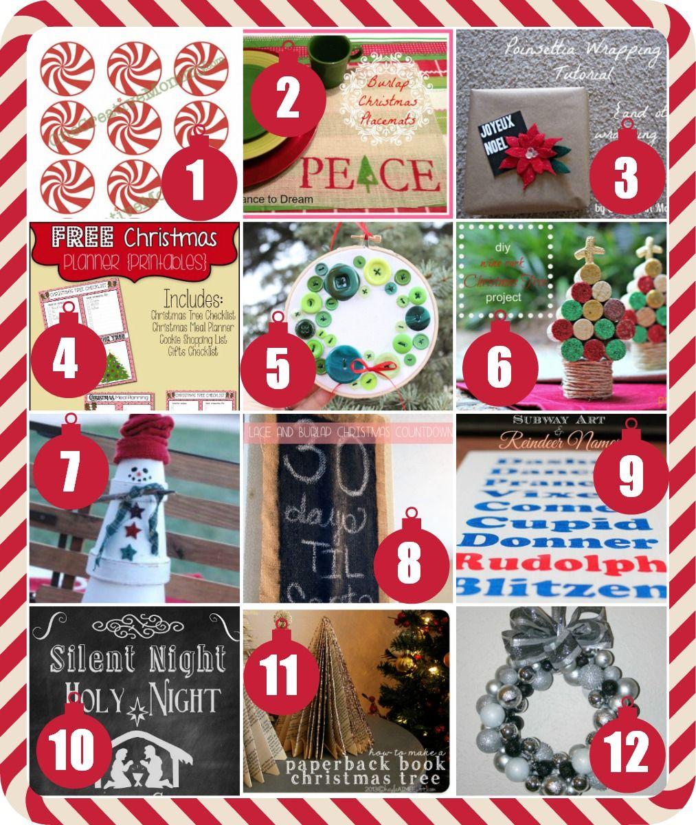 Representation of Creative Christmas Crafts To Make At Home