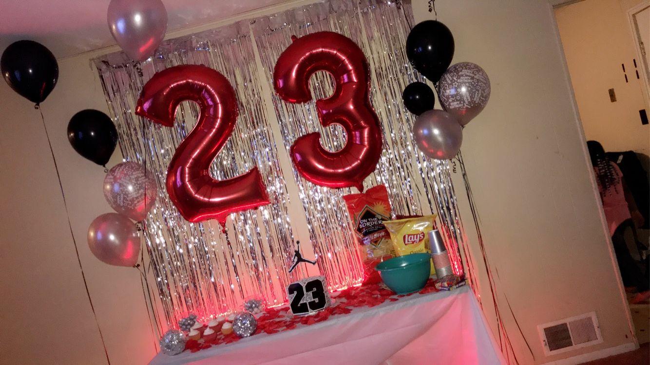 Jordan Year Birthday 23rd Birthday Decorations Jordan Year Birthday Birthday Ideas For Her