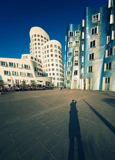 Love modern German architecture. Düsseldorf