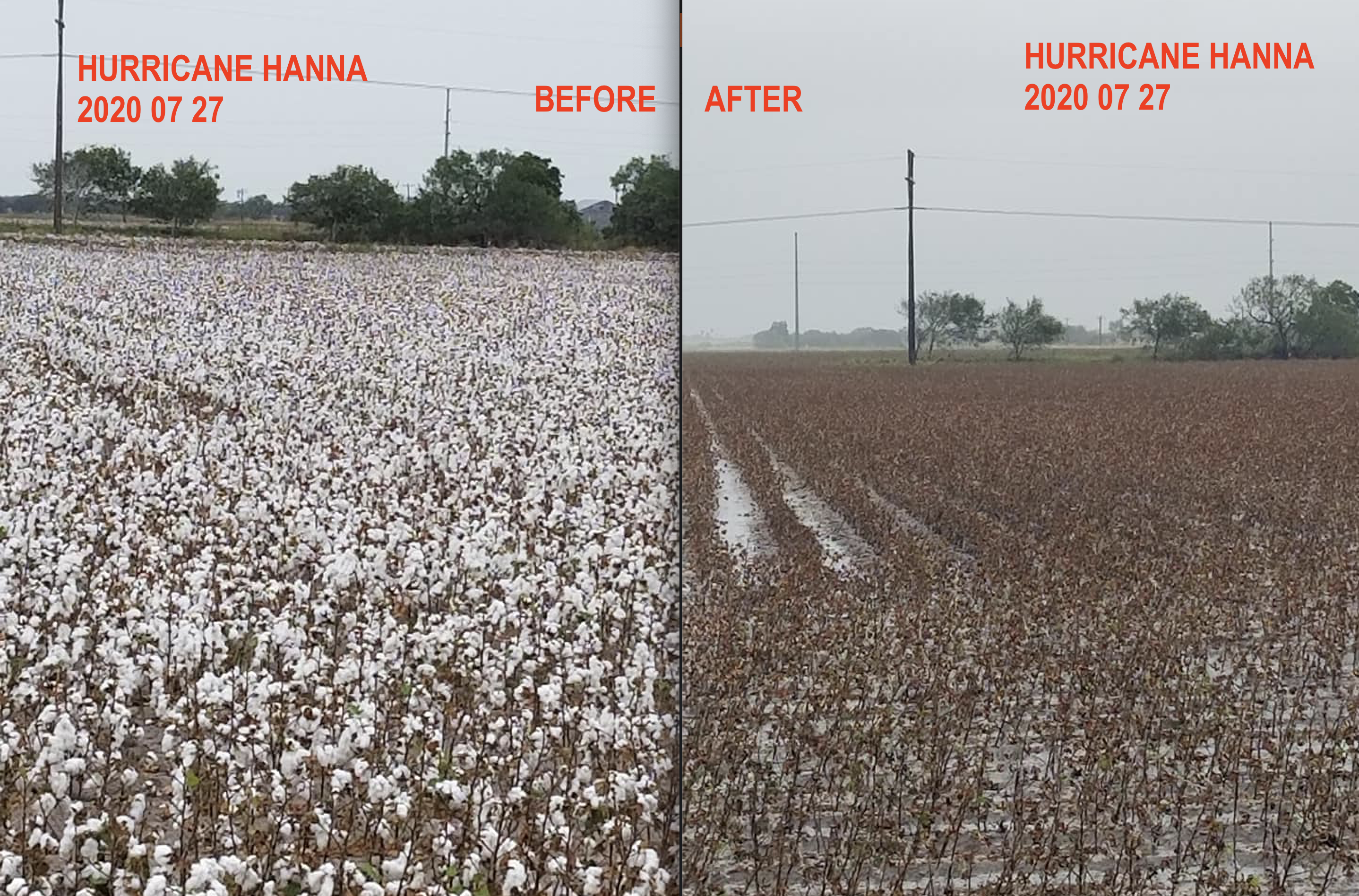 Hurricane Hanna In 2020 Hurricane Before And After Pictures Hanna