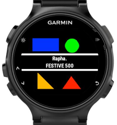 Rapha Festive 500 Garmin Connect Iq Garmin Garmin Connect Garmin Watch